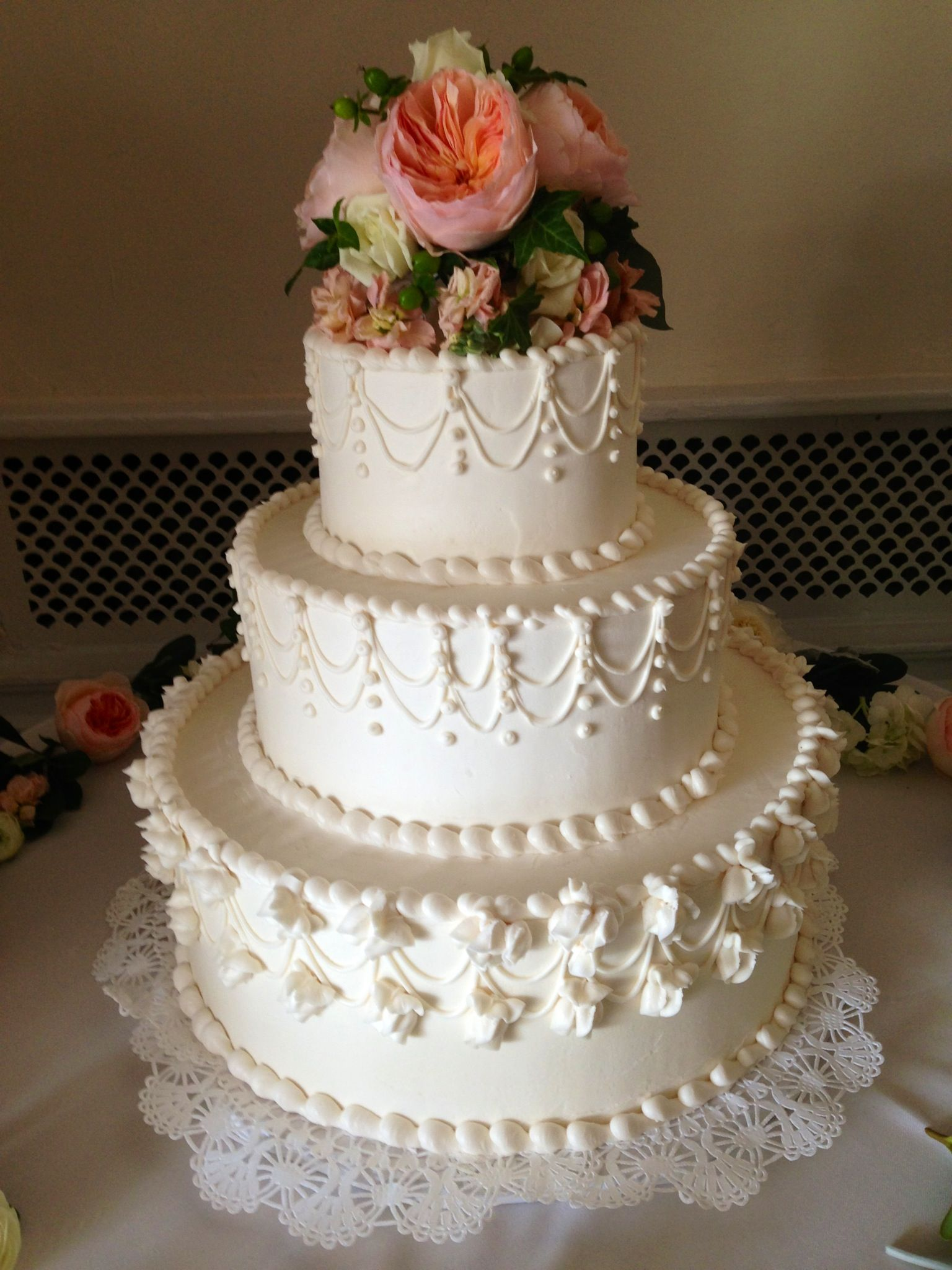 Traditional Wedding Cake in 2019 Wedding cake designs