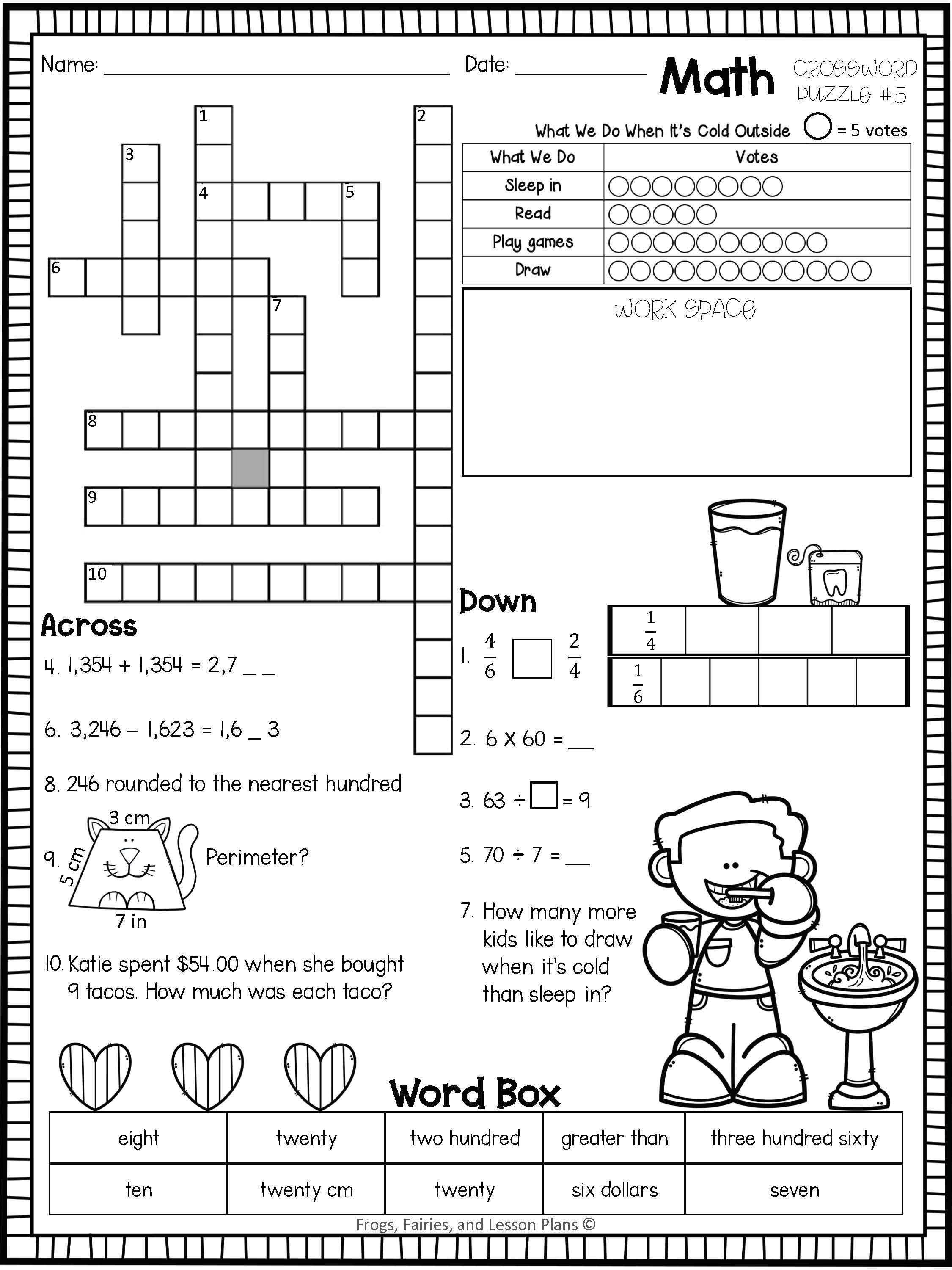 Crossword Puzzles All Fun And Games In