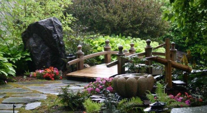 gardening landscaping backyard japanese garden ideas with wooden bridge backyard japanese garden ideas japanese landscaping pictures of japanese