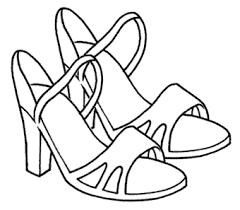 Resultado De Imagen Para Imagens De Zapatos De Mujer Para Colorear