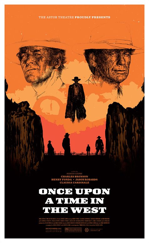 When You Hear A Strange Sound Drop To The Ground Once Upon A Time In The West 1968 Alternative Movie Posters Western Posters Best Movie Posters