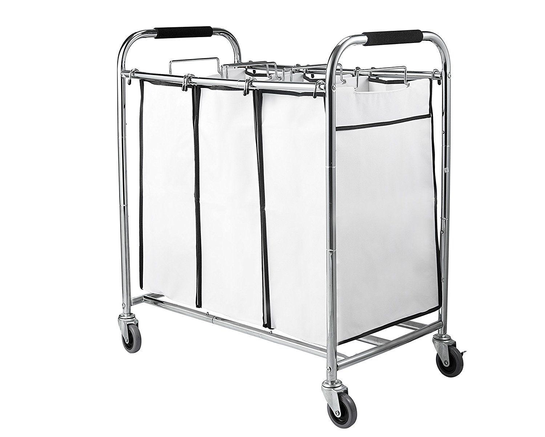 Amazon Com Saganizer Laundry Hamper With Wheels Rolling Laundry
