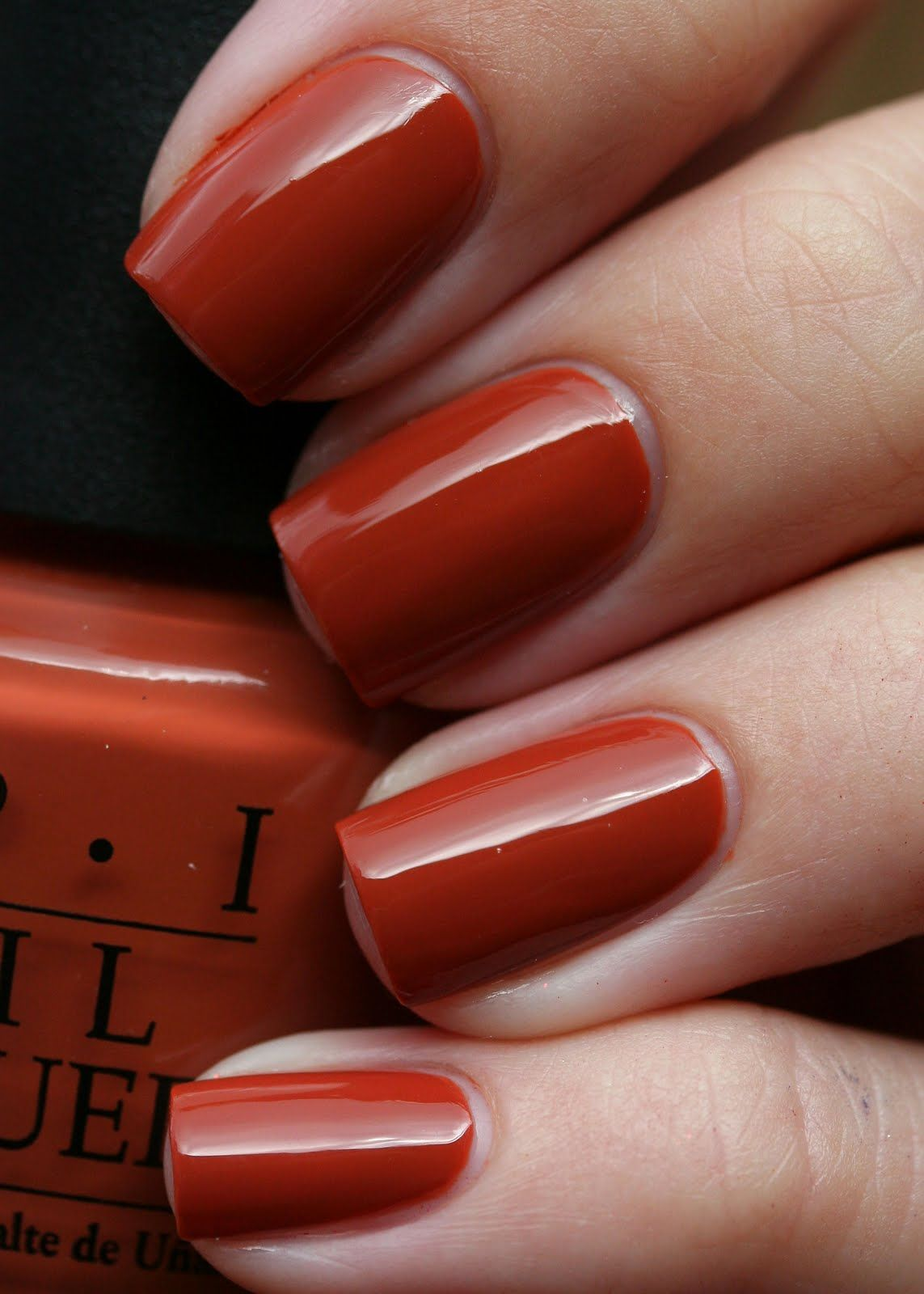 Orange Nails With Chevron And Glitter Nail: Ginger Bells I Never Have Red Nail Polish IBM But