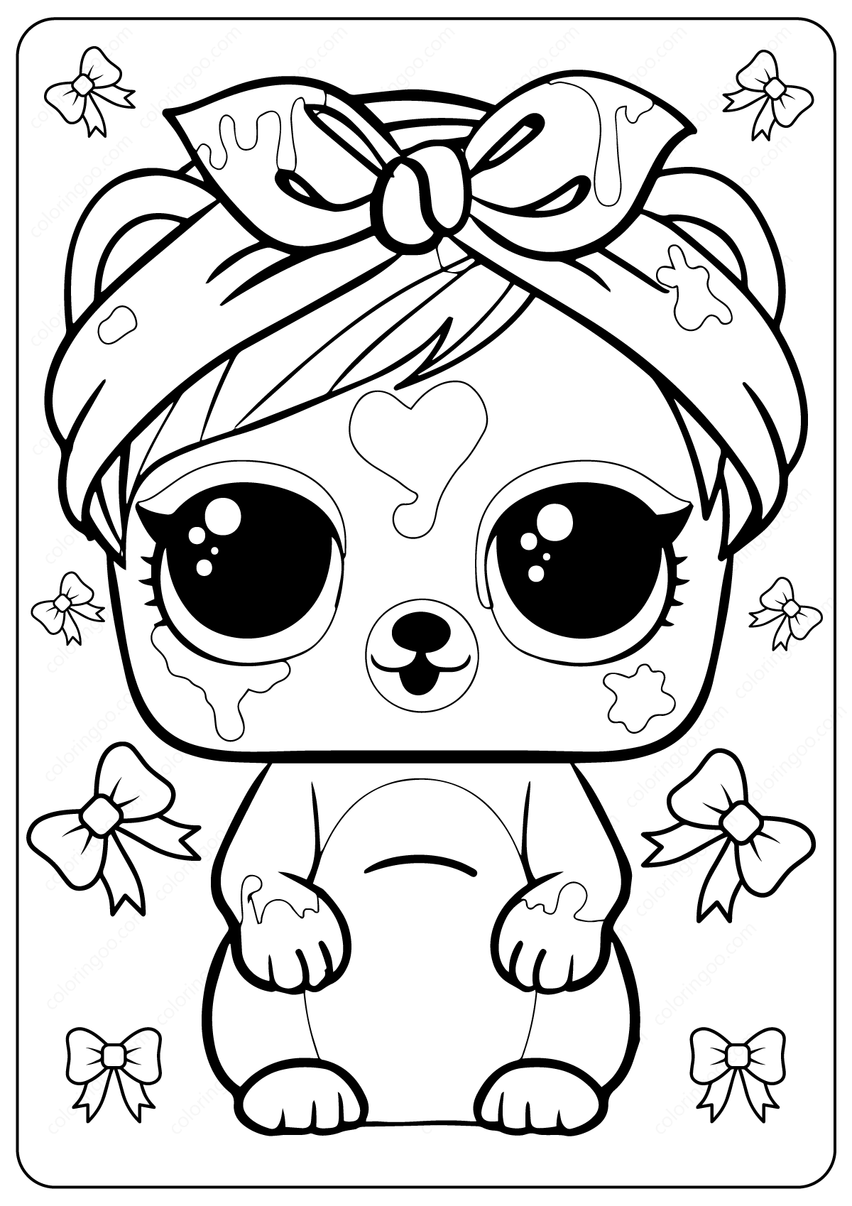 Free Printable Lol Surprise Coloring Pages Fairy Coloring Pages Unicorn Coloring Pages Baby Coloring Pages