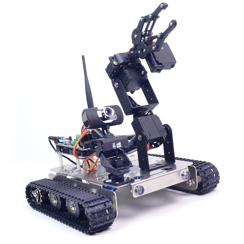 Gfs robot tank car kit with compatible arduino mega 2560
