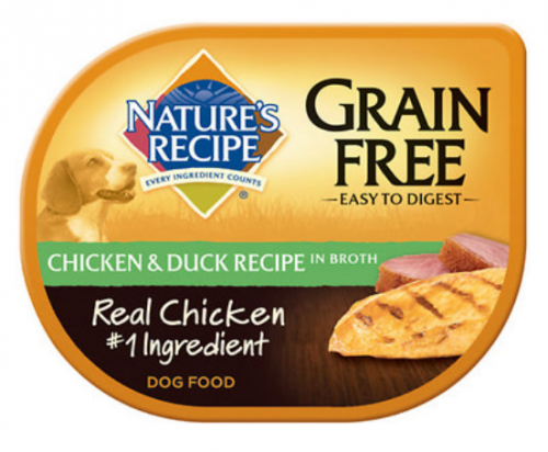 Nature S Recipe Grain Free Easy To Digest Chicken And Duck Recipe In Broth Wet Dog Food Dog Food Recipes Free Chicken Recipes Cheap Dog Food
