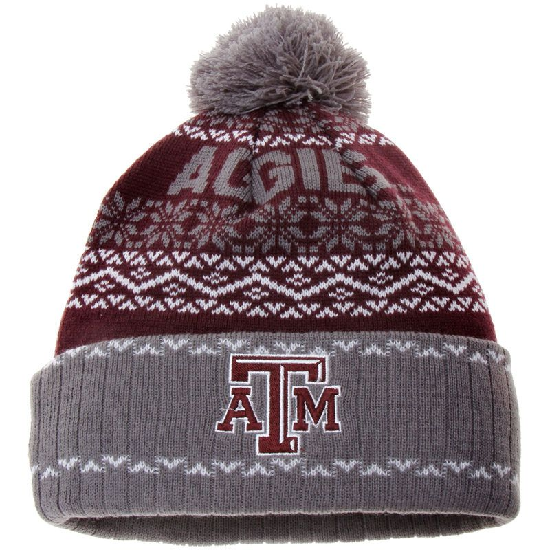 hot sale online 8dfa0 5d914 Texas A M Aggies Top of the World Ugly Sweater Sprinkle Cuffed Knit Hat -  Maroon