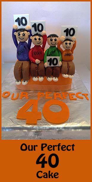 How to make a perfect 40 cake!