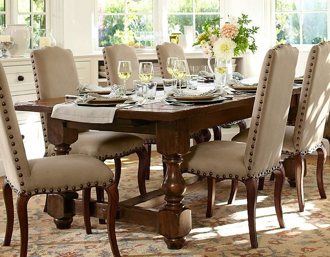 pottery barn dining room sets | Casual Dining Room Ideas | Pottery Barn | Dining room ...