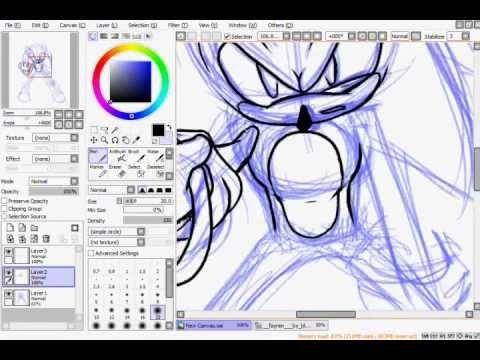 Drawing Sonic *AGAIN*