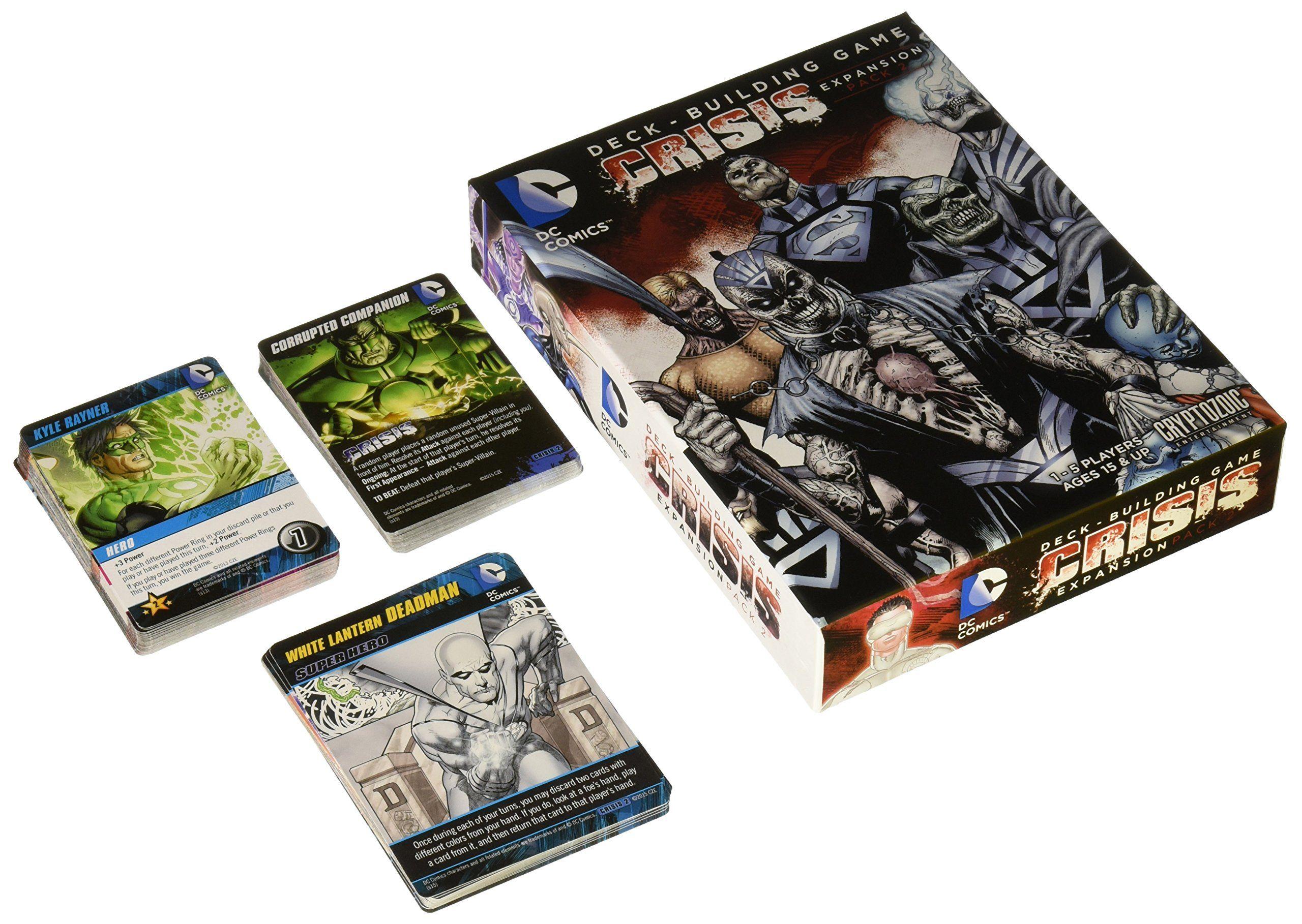 Dc comics crisis expansion card game toy pinterest