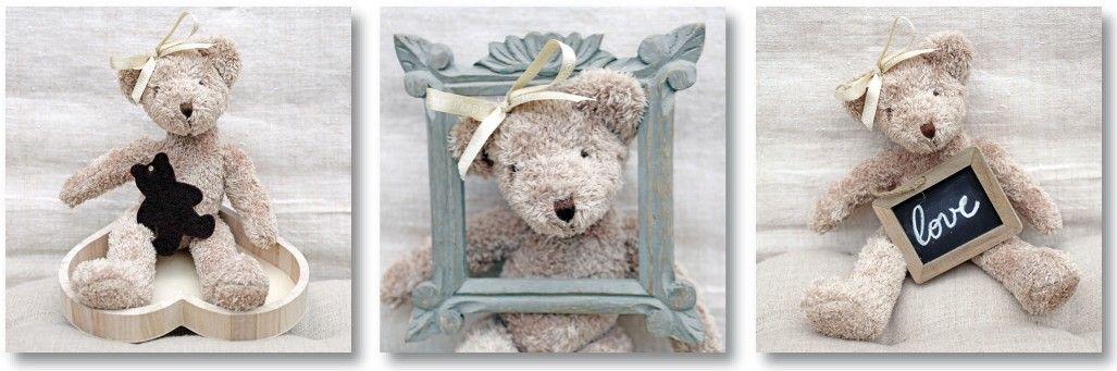 photos sur toile petit ours lilie rose d co enfantin pinterest toile. Black Bedroom Furniture Sets. Home Design Ideas