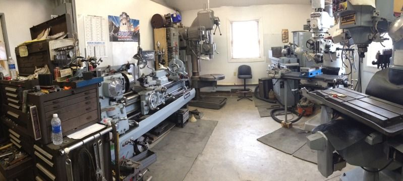 How big is your home machine shop? - Page 13 | Garage and