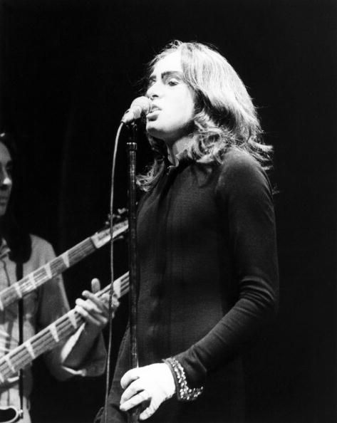 PG with a bit of Mike Rutherford, c.1972 love his hair!