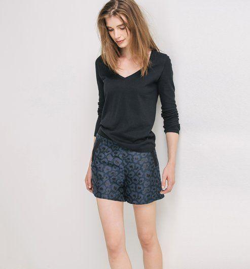 femmeInspirations jacquard femmeInspirations Short VetementVêtements Short Boutique Boutique VetementVêtements Short jacquard thQdCsxr