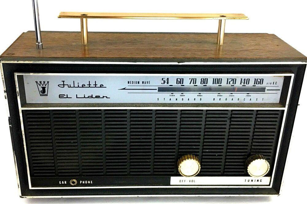 Vintage Radio it works