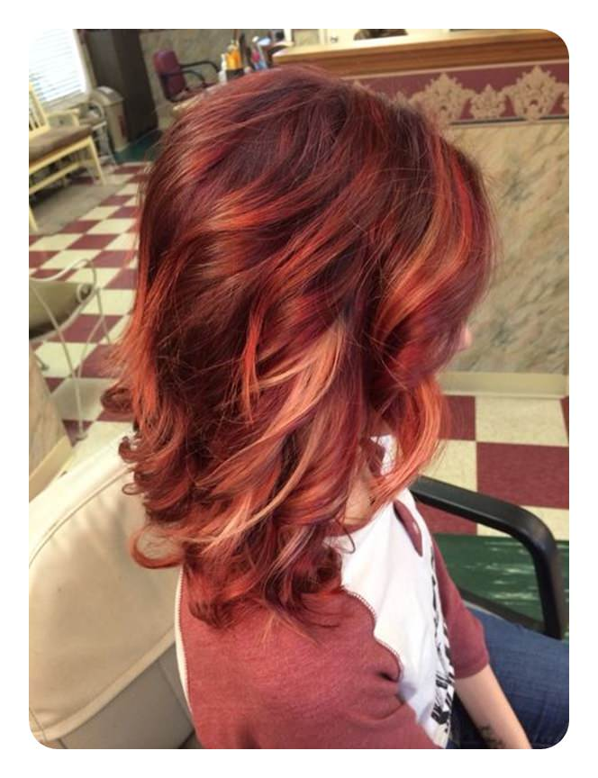 72 Stunning Red Hair Color Ideas With Highlights In 2020 Hair Styles Red Hair Color Hair