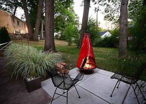 10 Happy And Affordable Outdoor Spaces Retro Renovation Outdoor Fire Pit Designs Outdoor Fire Outdoor Fire Pit
