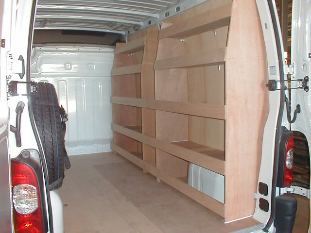 Van Shelving Google Search Van Shelving Van Storage Van Racking