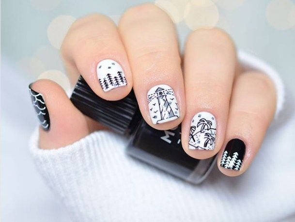Gel Nails 2018 Trends Pretty 69 Photosartificial For Solar Vs Acrylic Fake Glue On Press Types Of Artif
