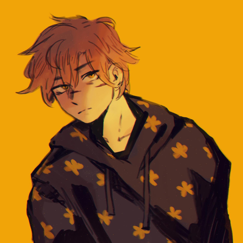 Aesthetic Boy Hair Drawing