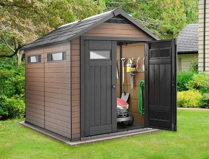 Composite Storage Sheds Tradition With A Modern Twist Shed Shed Plans Shed Building Plans