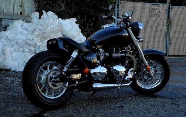 Triumph Speedmaster Custom Motorrad Bild Idee