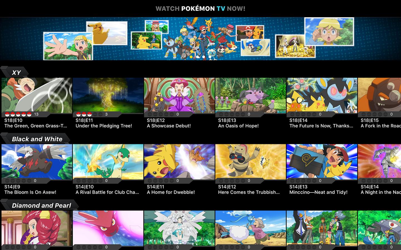 Pokémon TV chega à Apple TV de 4ª geração - http://www.showmetech.com.br/app-pokemon-tv-chega-nova-apple-tv/
