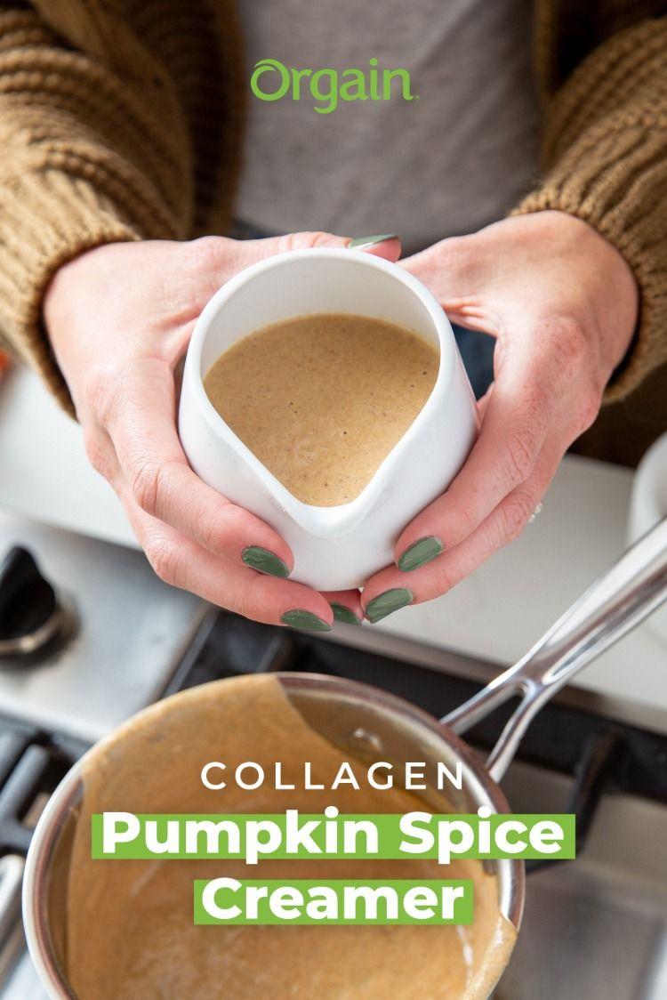 Collagen pumpkin spice creamer in 2020 pumpkin spice