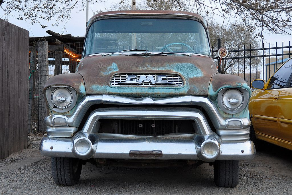 1955 Gmc 100 Truck Maintenance Restoration Of Old Vintage Vehicles The Material For New Cogs Casters Gears Pads Could Be Gmc Trucks Classic Trucks Cool Trucks