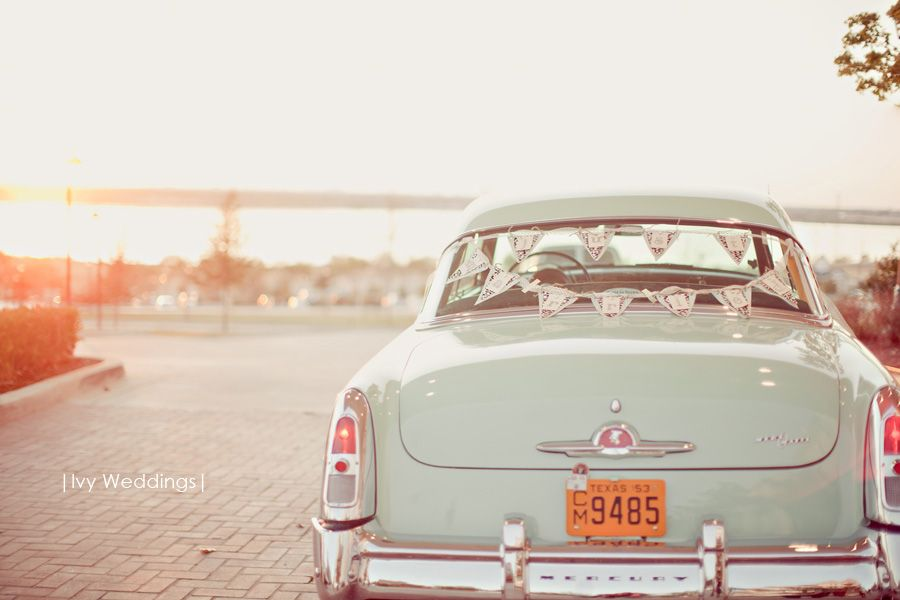 such a cute get away car. | covenant | Pinterest | Cars, Wedding and ...