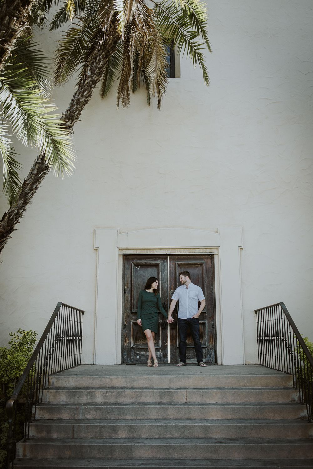 Beach + Cactus Garden Engagement Photos –  Couple goals with this engaged couple during their engagement photo session. We shot this engagemen – #beac…