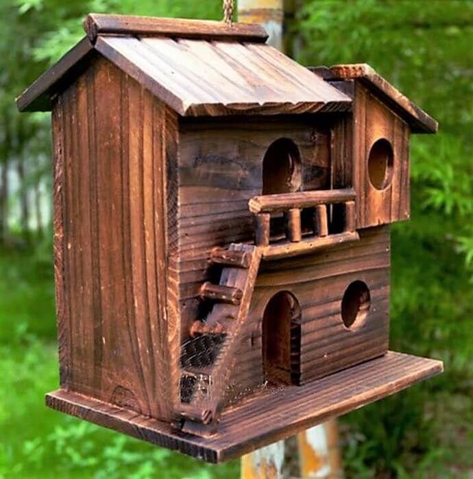 30 Birdhouse Ideas For Your Precious Garden Unique Bird Houses