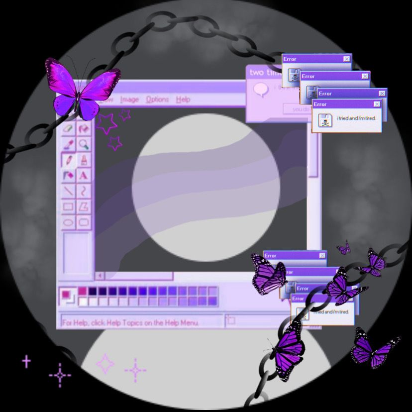 i did dis purple pfp 🙈 in 2020 | Cute profile pictures ...