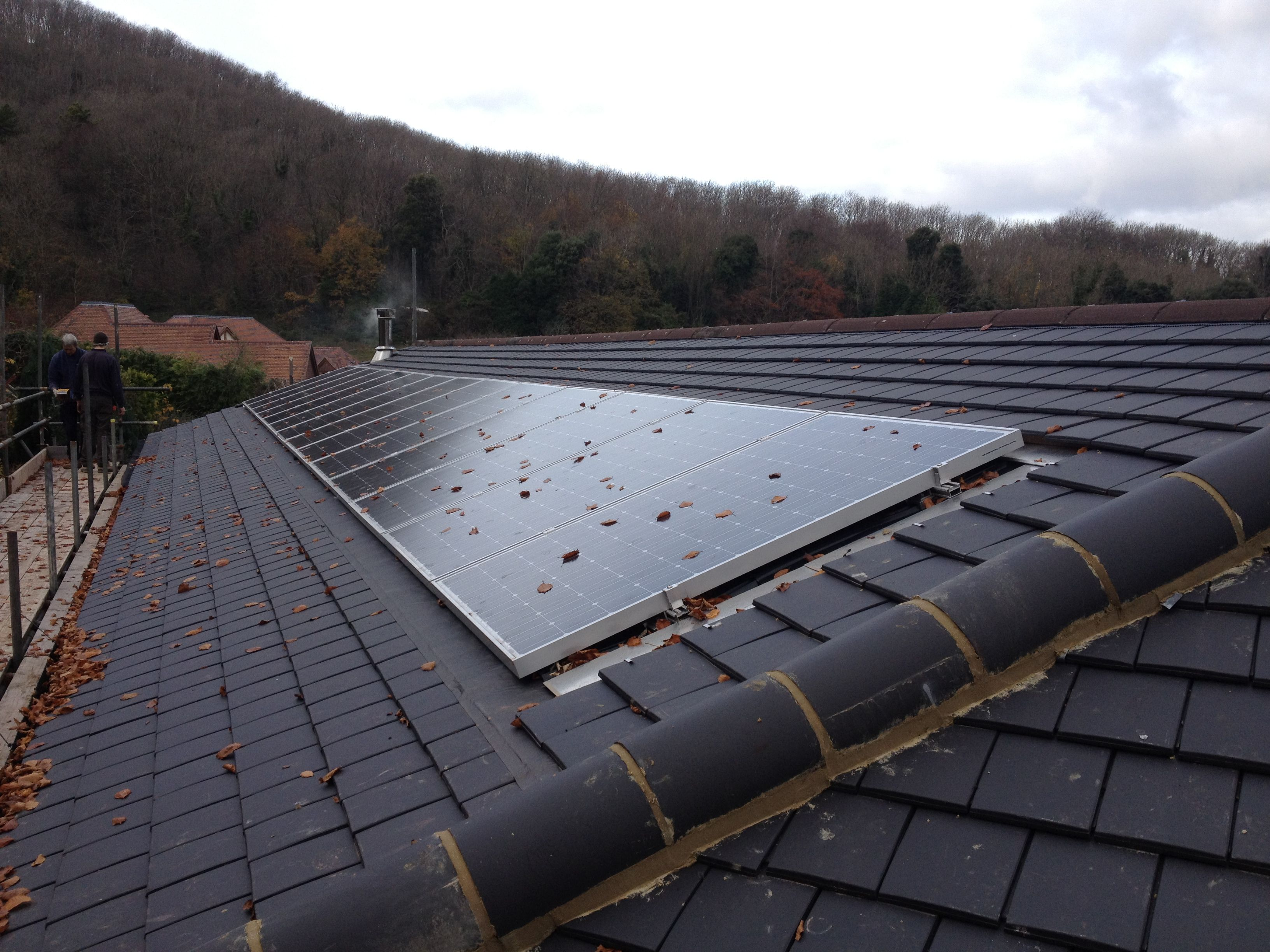 New Low Pitch Roof To Rear Of Property In Eastbourne