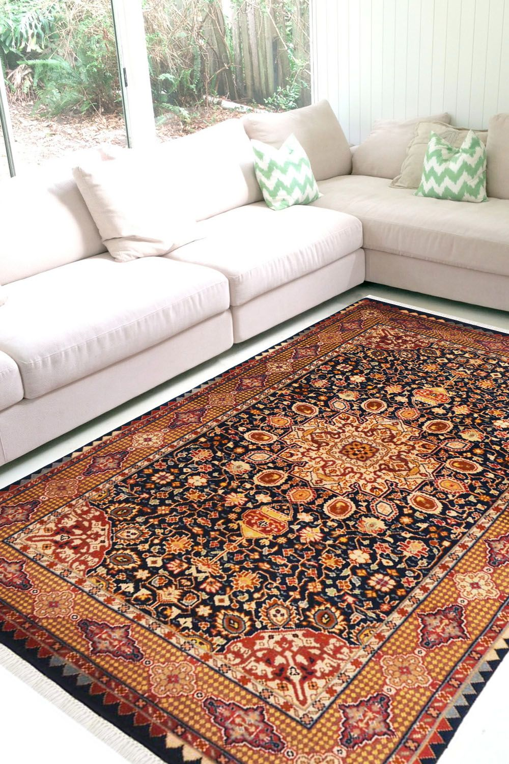 3 10 X 6 Neel Ardabil Rug Wool Area Rugs Online With Images