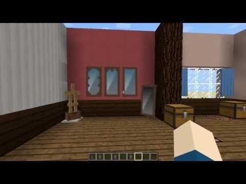 マインクラフト バニラでカーテンや鏡を作る方法 内装 Youtube