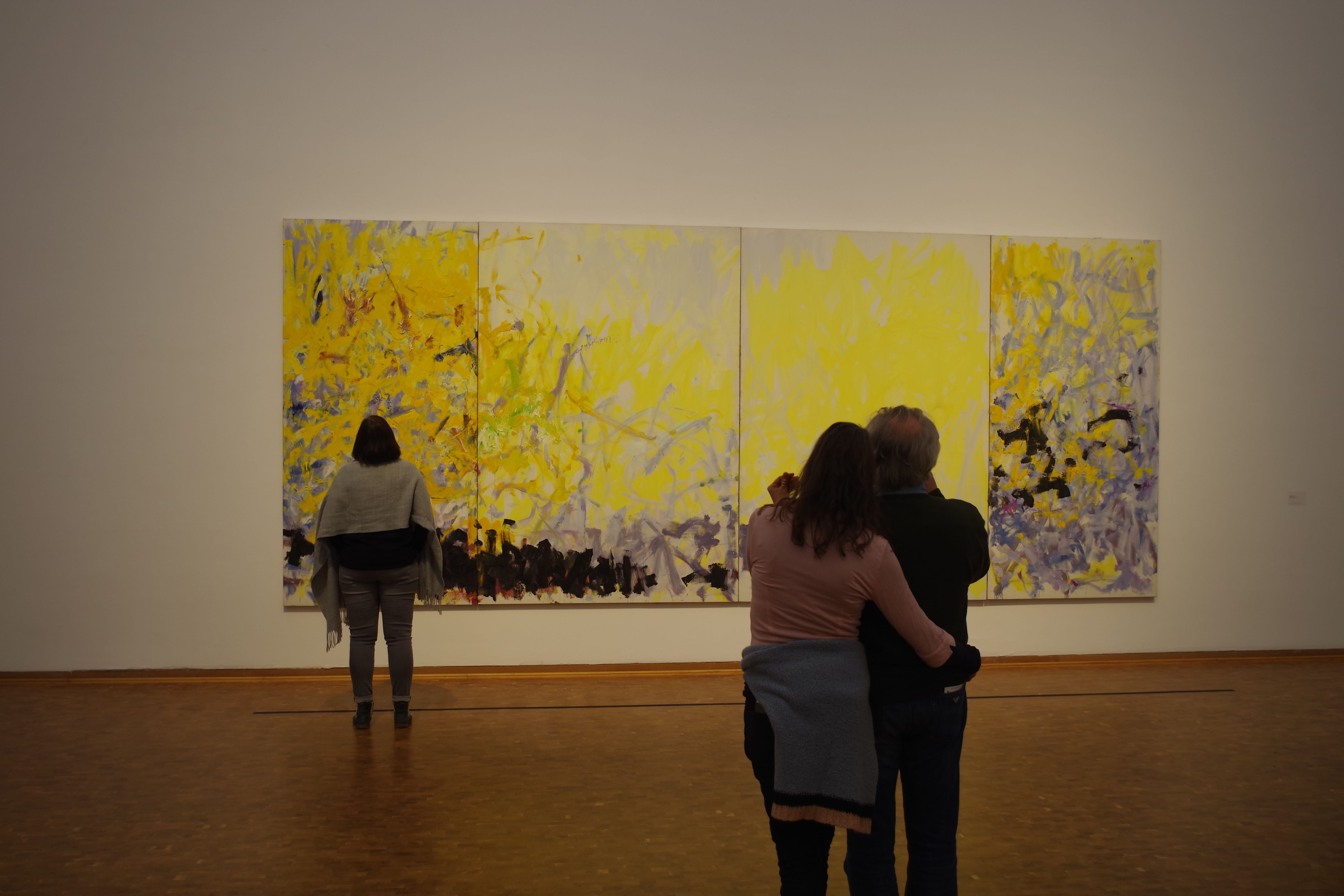 Joan Mitchell Retrospective Her Life And Paintings Museum Ludwig Gegenwartskunst Museum