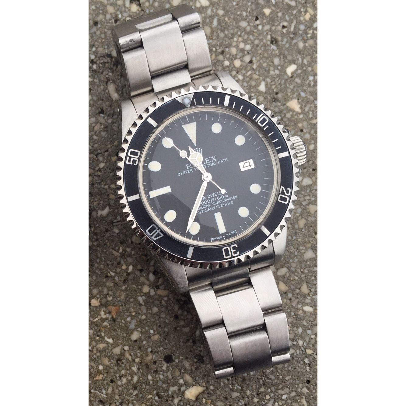 Rolex sea dweller 1665 Mk3. Per maggiori info contattare in privato⭐️⭐️#rolex #vintage #daytona #patek #audemarspiguet #datejust #datedate #chanel