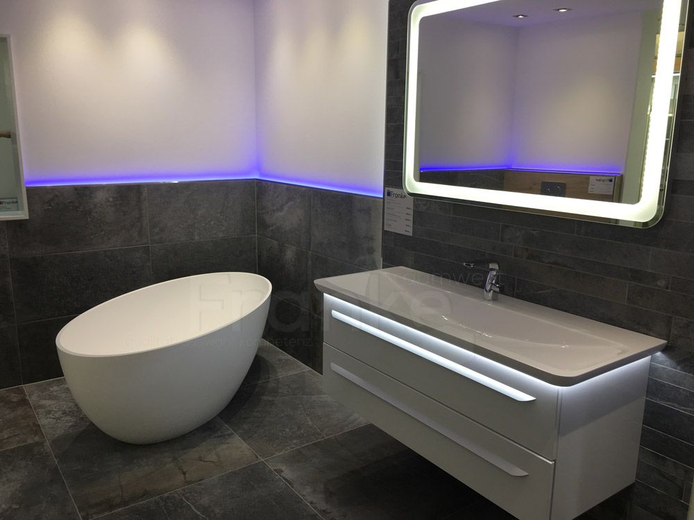 Steinoptik natürlich, elegant für ein hochwertiges Wohnambiente - badezimmer waschbecken mit unterschrank