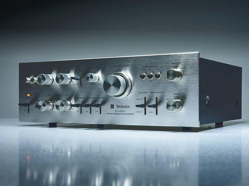 Technics SU 3500 Stereo Amplifier in 2019 | Amps & Stereos