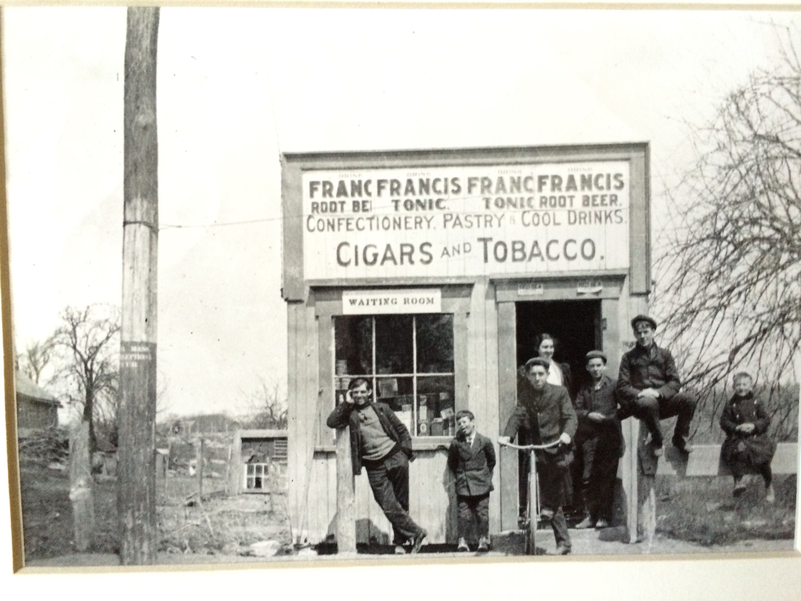 Small store which was located on New Boston Rd. near where