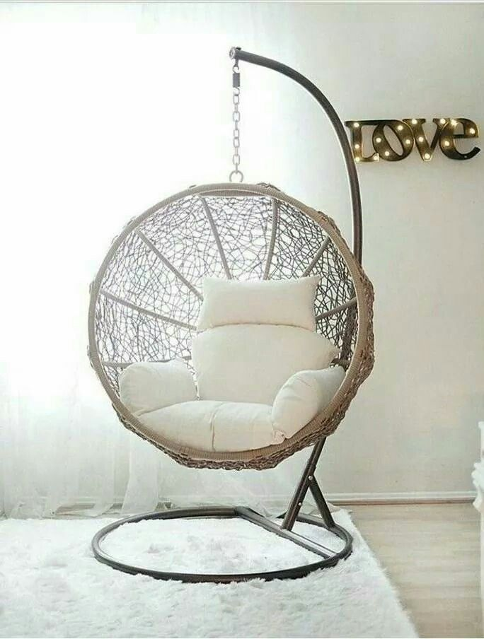 Pin By Dolly ʚiɞ On Happiness Indoor Swing Chair Room Swing Hanging Chair Indoor