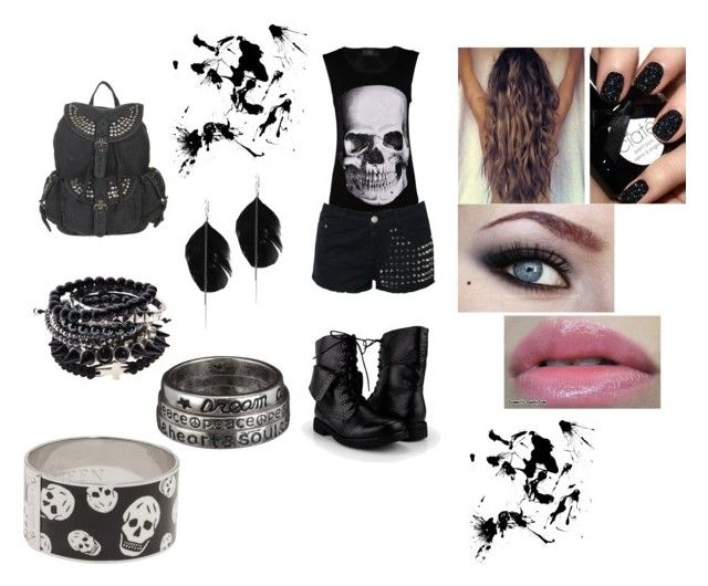"""""""Untitled: 243"""" by msmindless-princewifey ❤ liked on Polyvore featuring AX Paris, Glamorous, Alexander McQueen and Style Tryst"""