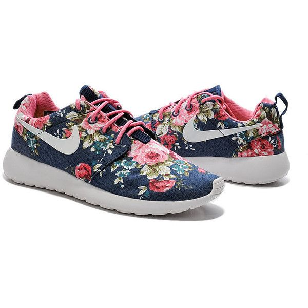 9ab1a69eb5d8 Custom Nike Roshe Run Sneakers Athletic Women Shoes With Print Fabric...  ( 90