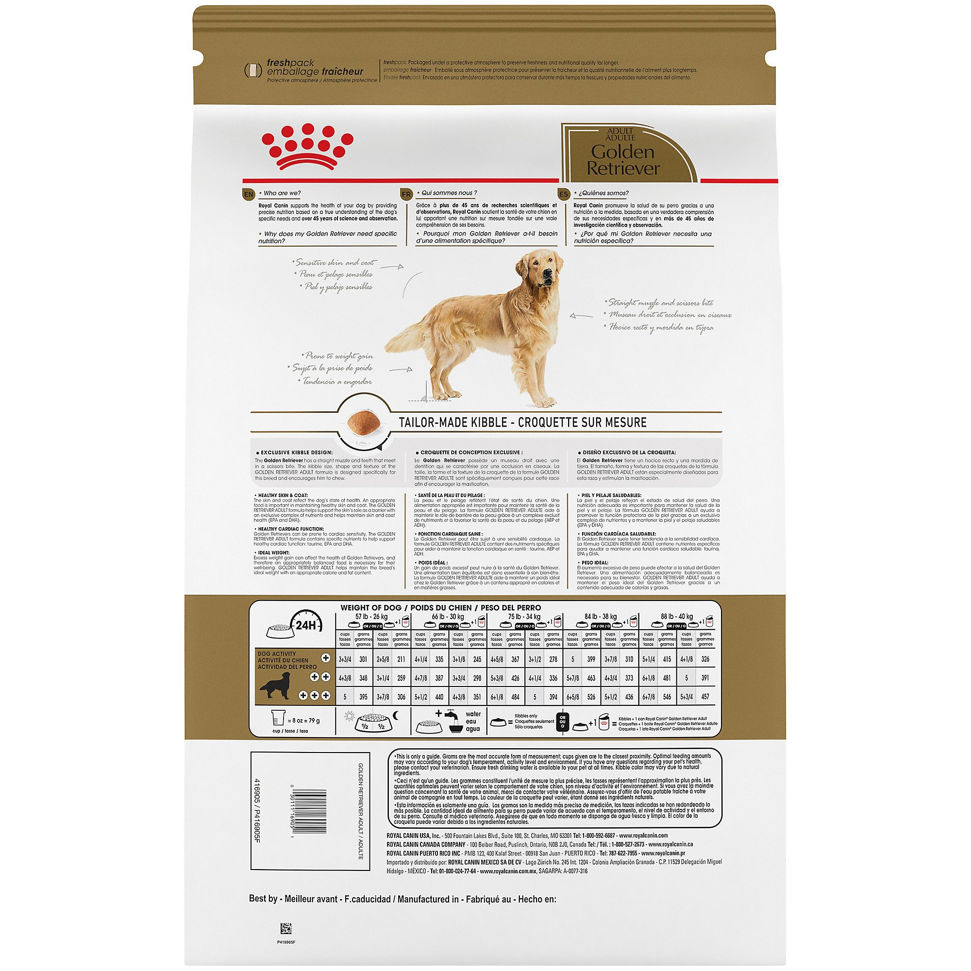 Royal Canin Breed Health Nutrition Golden Retriever Adult Dry Dog
