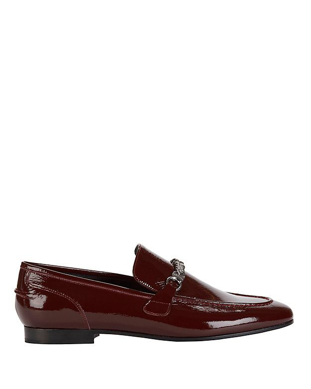 8e38b5021d Rag & Bone Cooper Chain Detail Patent Leather Loafer: A slip-on style patent