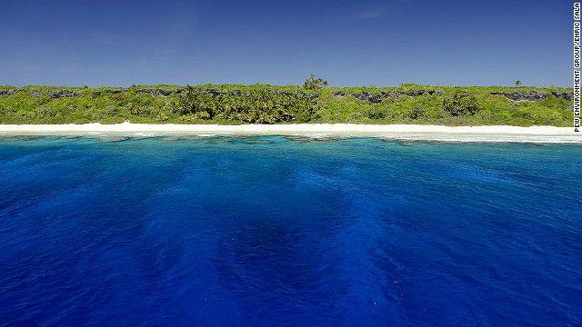 Protecting Pitcairns Marine Bounty Henderson Island British - Pitcairn island one beautiful places earth