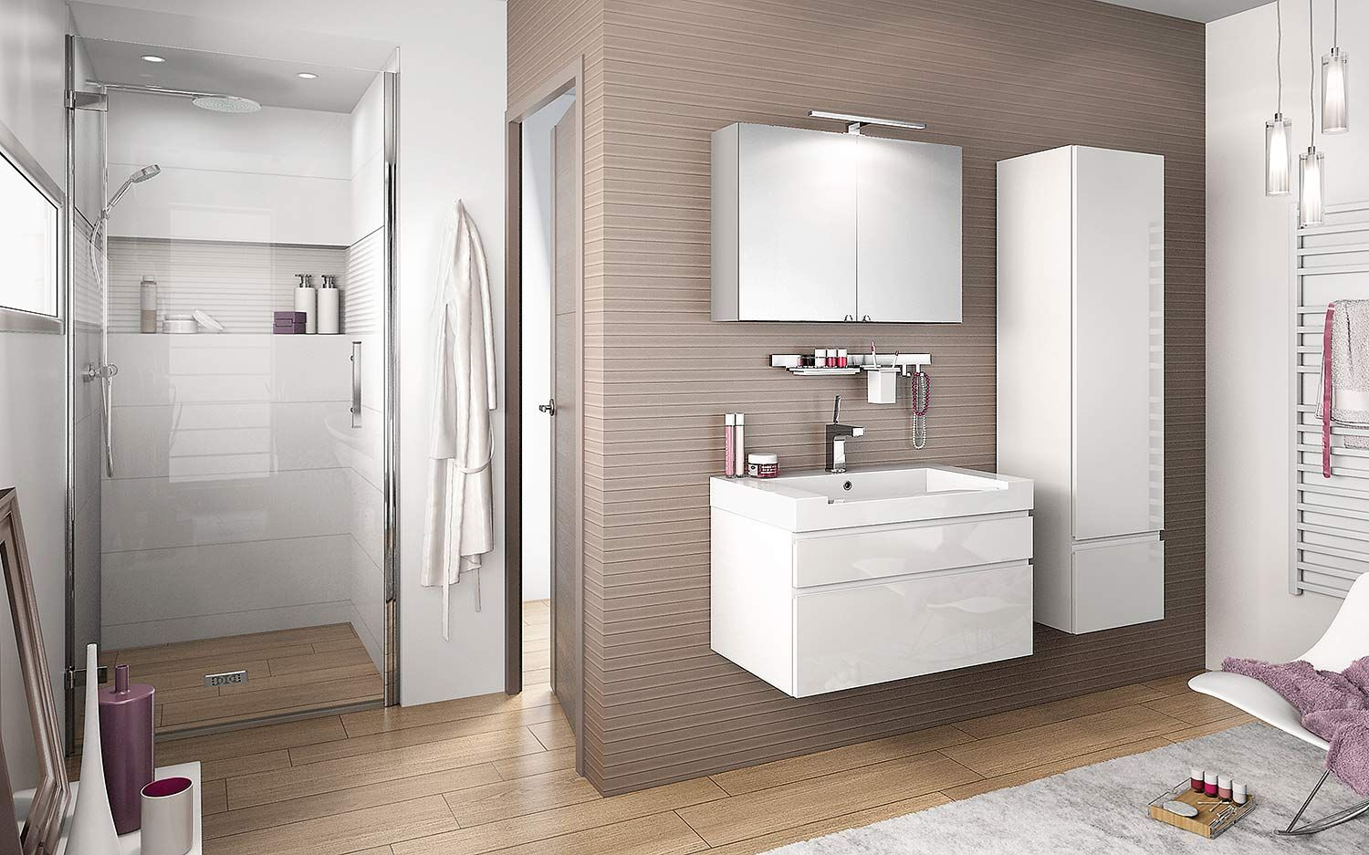 2014 Meubles Salle De Bains Delpha Inspirations Nt80d 1 Jpg 1500 937 Double Sink Bathroom Bathroom Furniture Bathroom