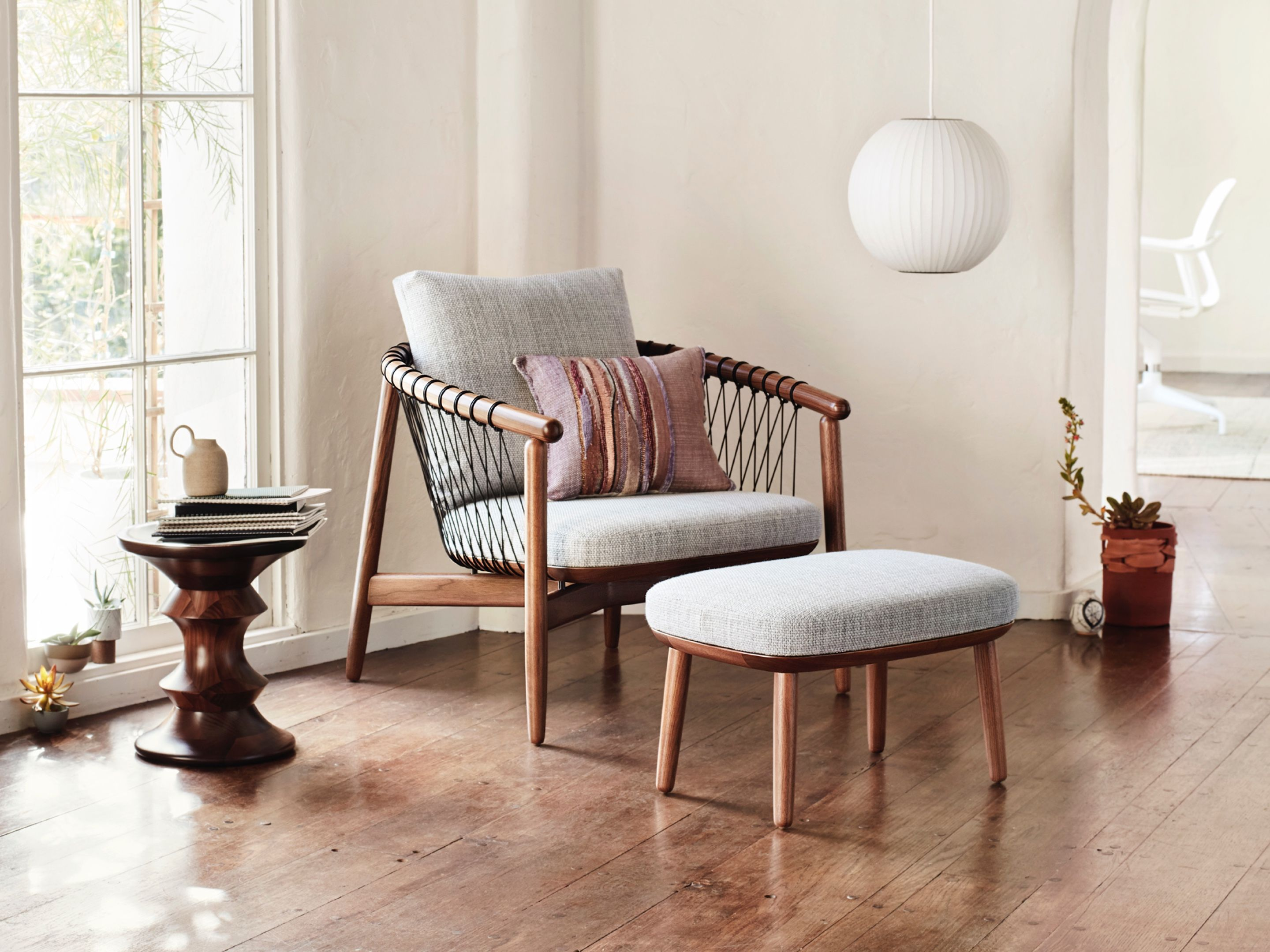 Crosshatch chair leather dining room chairs accent
